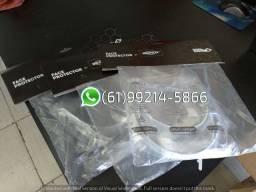 Máscara Face Protector Kit com 3 Unid Face Shield de Proteção Facial Brinox