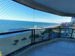 Frente mar, 3 quartos com suite, varandao, andar alto, lazer completo!