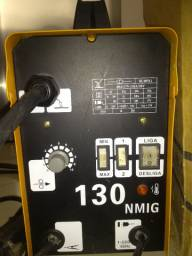 Máquina de solda MIG NAGANO 130 valor 499,00