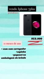 Iphone 7Plus preto forco