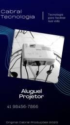 Telao,Projetor,notebook alugue aqui para Curitiba