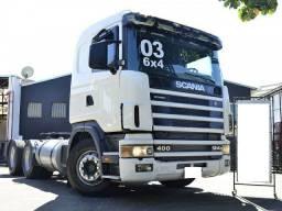 Vendo Scania r 124 400 6x4 ano 2003