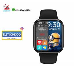 Smartwatch Hw16 44mm Relógio Compatível Android Ios só zap