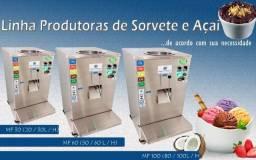 Máquina de Sorvete e Açai