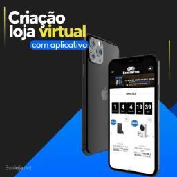 Criação de loja virtual + aplicativo