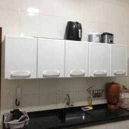 Armario de cozinha em aço 5 portas bertolini estado de NOVO