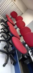 Cadeiras giratória para escritório