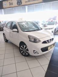 NISSAN MARCH SL MANUAL 1.6 2015 BRANCO