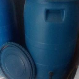 bombona 90 litros com tampa e torneira