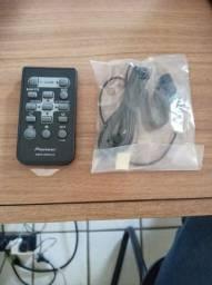Controle e microfone Pioneer novo na embalagem