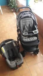 Carrinho e bebê conforto importado Graco