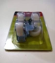 Conjunto de Rodas- Rodanas para Pé de armários, Balcão e outros moveis
