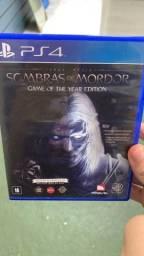 Sombras De Mordor PS4
