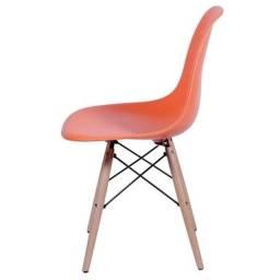 Cadeira eames eiffel infantil laranja