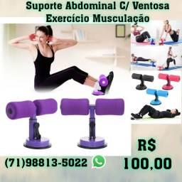 Suporte Abdominal C/ Ventosa Exercício Musculação