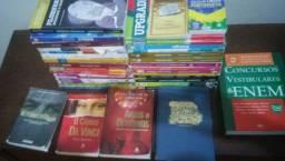 37 Livros (Literário, Ensino Médio, Vestibulares e Concurso.) Frete Grátis