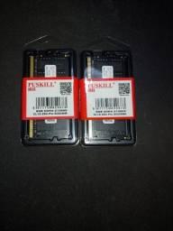 Memoria Ram Puskill 8gb ddr4 2666mhz Notebook - sodimm - Produtos novos