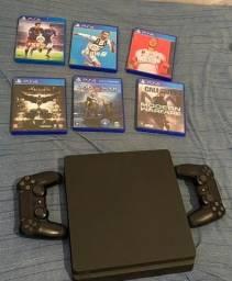 Vendo PS4 + controles originais e jogos