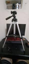 Tripé para Celular e Câmeras DSLR