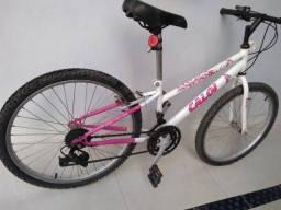 Bicicleta Caloi Feminina