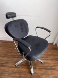 Cadeira para salão/barbearia reclinável