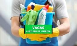 Vagas auxiliar de limpeza na Região do ABCDM