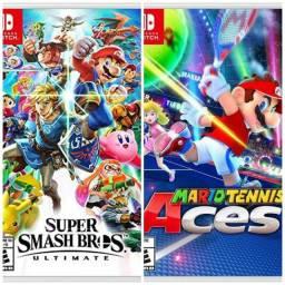 Jogos Nintendo Switch - TROCO OU VENDO