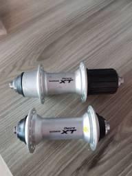 Cubos de roda Shimano Deore XT HB M 770 e FH M 770