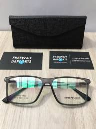 Óculos Armani Grey armação de alumínio nova