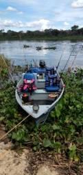 Pescaria no Pantanal em Corumbá/MS.
