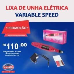 Lixa de Unha Elétrica Variable Speed
