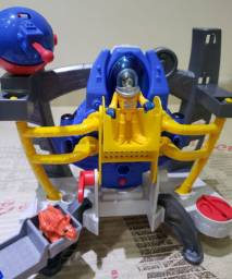 Nave / base espacial imaginext novo
