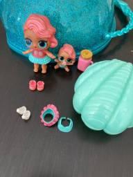 Boneca Lol kit com 10 itens