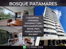 Bosque Patamares, 2 quartos em 65m² com 1 vaga de garagem em Patamares