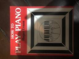 Livro How To Play Piano - Autor Roger Evans