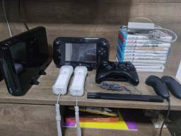 Video game Nintendo Wii U completo + jogos + controles