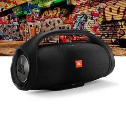Jbl bombox Bluetooth pendrive mega liquidação