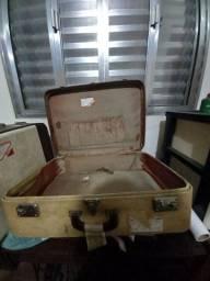 Mala de viagem vintage usada (2unidades)