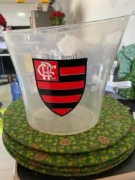 Vendo Balde de acrílico do Flamengo