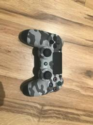Controle camuflado PS4