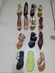 Lote de sapatos femininos 37