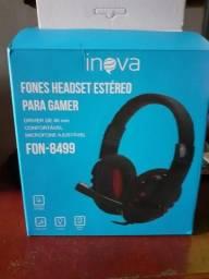 Fone Headset Estéreo
