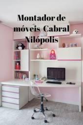 Montador de móveis Cabral-Olinda-Paiol-Nova Cidade