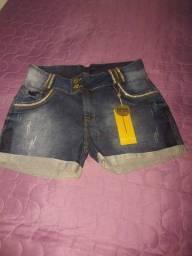 Bermuda Jeans com Laycra 48