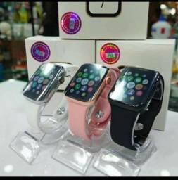 Smartwatch IWO série 8// faz e recebe chamadas/ mensagens com leitura etc