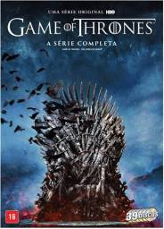 DVD Box - Game Of Thrones - A Série Completa - 39 Discos