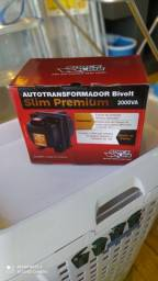 Autotransformador 2000VA Bivolt Slim Premium