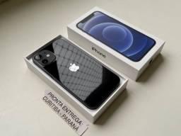 iPhone 12 Mini 256 gb Preto. Troco