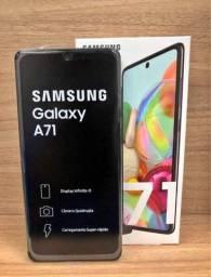 Galaxy A71 Preto 128 gigas impecável