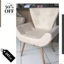sofa poltrona cadeira retro espera